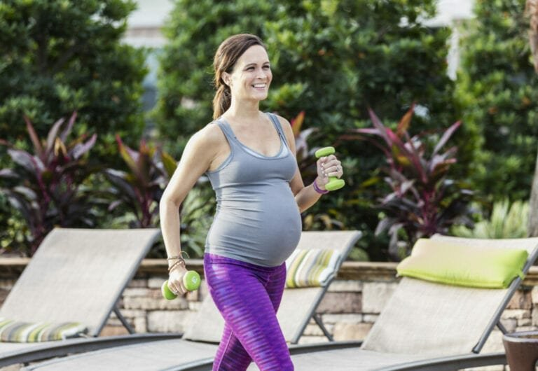 Could Exercise in Pregnancy Boost Baby's Health