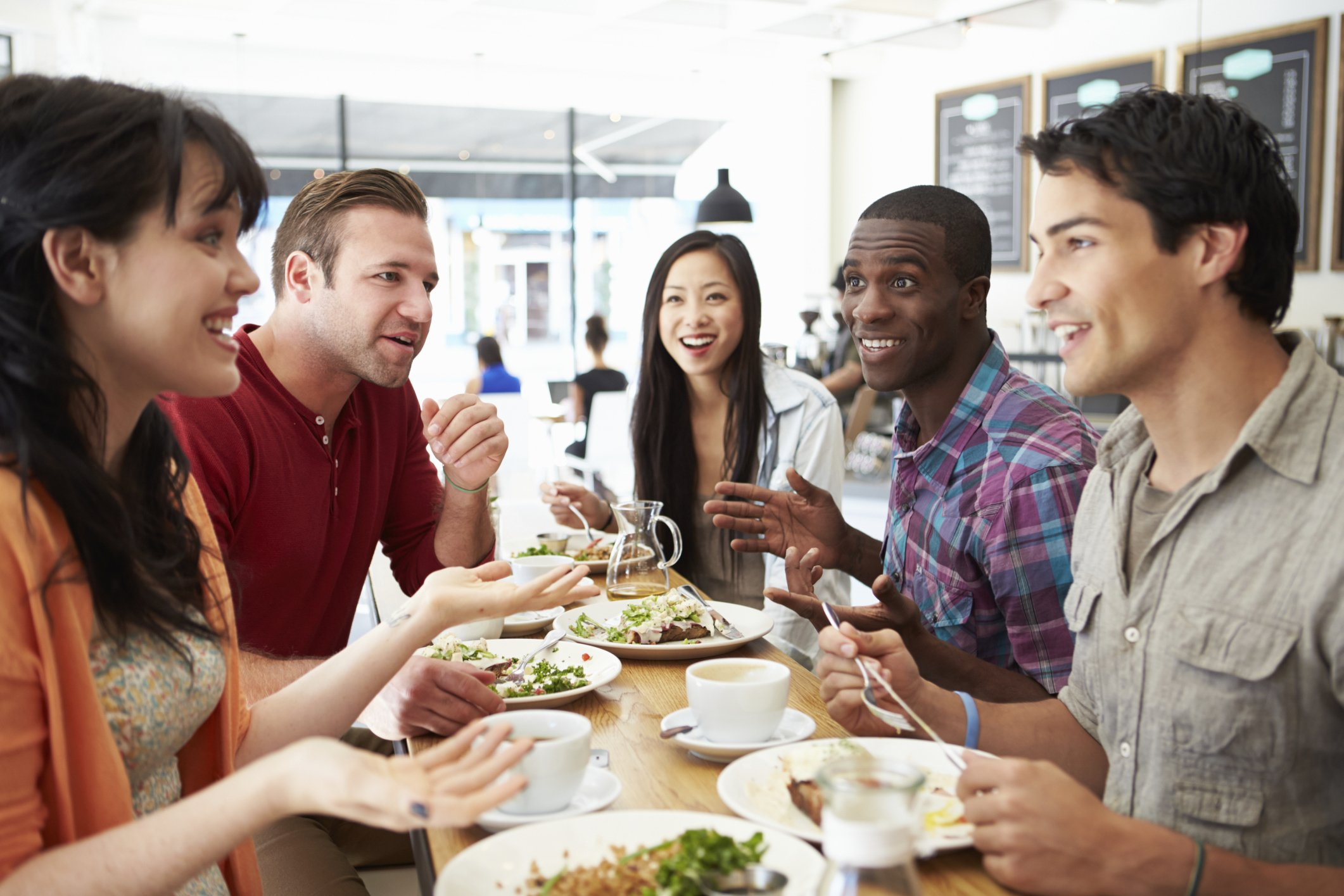 Salad or Cheeseburger? Your Co-Workers Shape Your Food Choices