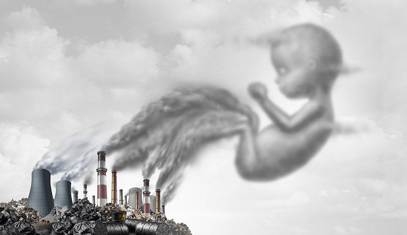Air Pollution Exposure During Pregnancy May Boost Babies' Obesity Risk